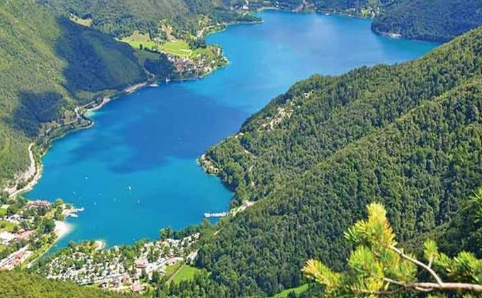 Italian Lakes: Half Board Summer Holiday to Lake Ledro w/Transfers & Guest Card. Save £420