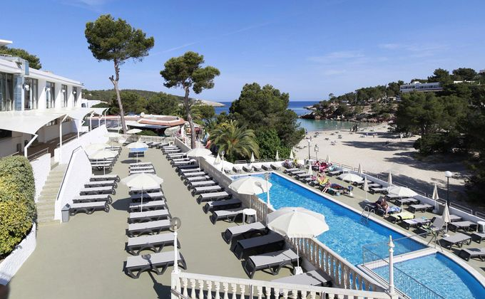 Ibiza: 'Adults Only' ' All Inclusive Holiday to Award Winning Spa Hotel w/Stunning Views