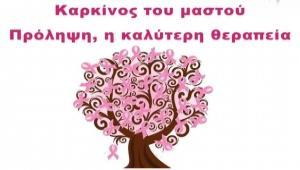 Ήγουμενίτσα: Ενημερωτική εκδήλωση αφιερωμένη στην πρόληψη του καρκίνου του μαστού το Σάββατο στην Ηγουμενίτσα