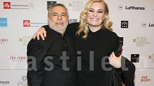 Η Ελισάβετ Μουτάφη με τον σύντροφό της στο fashion show του θείου της Μάκη  Τσέλιου! 883f843465e