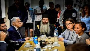 1009de39128 Η Αρχιεπισκοπή Αθηνών και η Τοπική Αυτοδιοίκηση στο πλευρό των ανήλικων  προσφύγων της «Αποστολής»