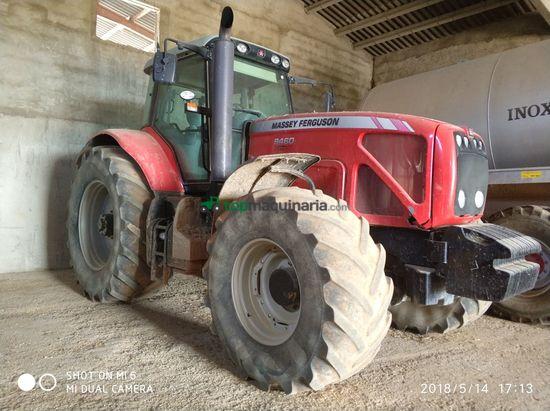 Tractor agrícola - Massey Ferguson - MF 8460  DYNA-VT