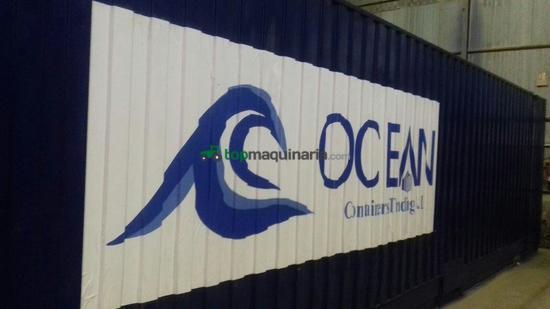 Contenedor mar timo usado de 40 hc en madrid topmaquinaria - Contenedor maritimo segunda mano ...