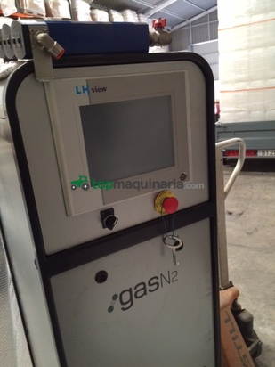 Generador de nitrógeno y calderín de 1000 litros