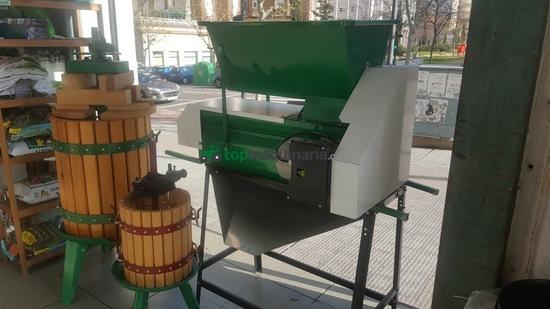 prensas para el vino,depósitos inoxidables, despalilladoras, estrujador