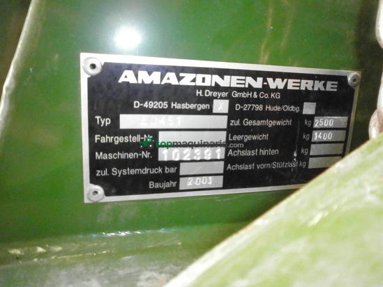 Sembradora monograno de precisión - Amazone - ED 451
