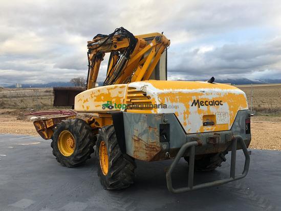 Excavadora de ruedas Mecalac 12mx