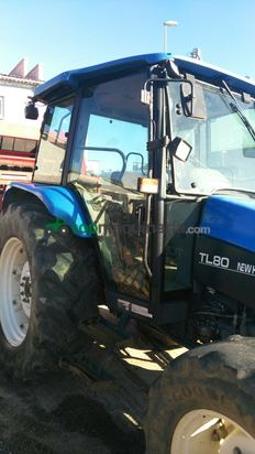 Tractor agrícola - New Holland - TL80