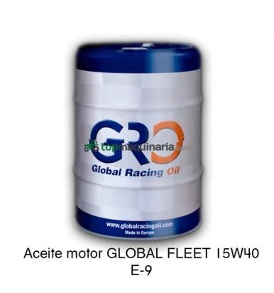 ACEITE MOTOR GLOBAL FLEET 15W40 E-9 208 LITROS