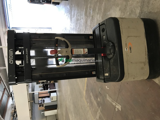 Carretilla eléctrica - Crown - modelo WF2300, DE 1,6 TONELADAS, 1000 kg