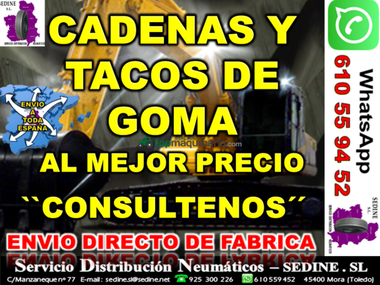 CADENAS DE GOMA