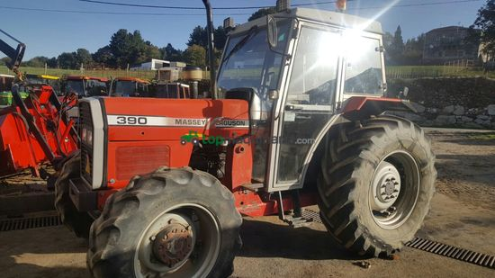 Tractor agrícola - Massey Ferguson - 390