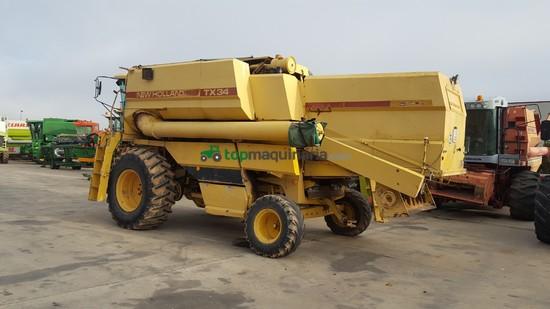 Cosechadora de Cereal - New Holland - TX34 M