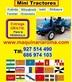 Mini tractor - minitractor