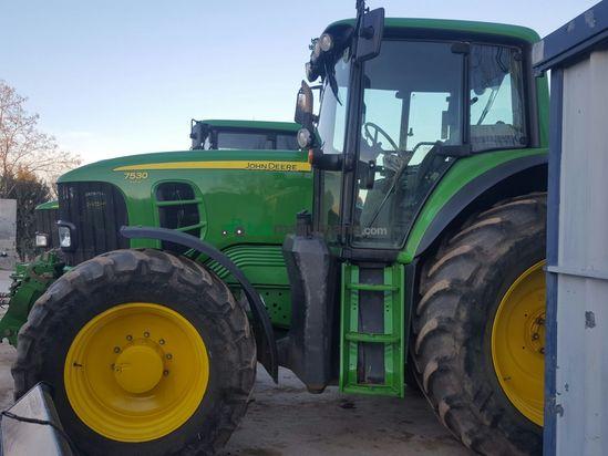 Tractor agrícola - John Deere - 7530