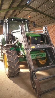 Tractor agrícola - John Deere - 6530