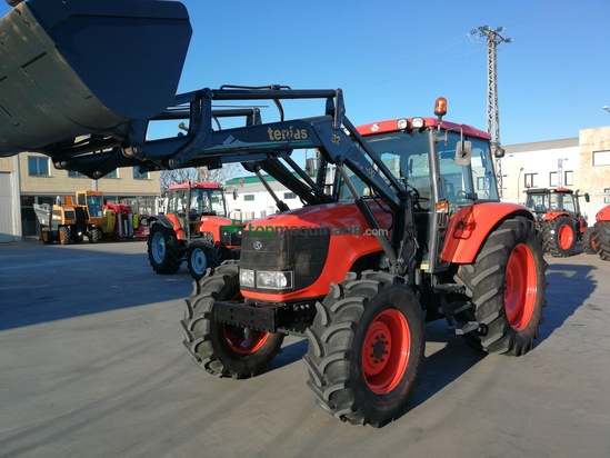 Tractor agrícola - Kubota - M125X + Pala Tenias 300 B2