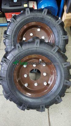 ruedas de goma 400x8 nuevas