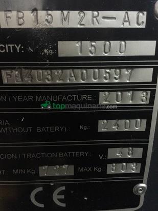 Carretilla eléctrica - Komatsu - FB15MR2