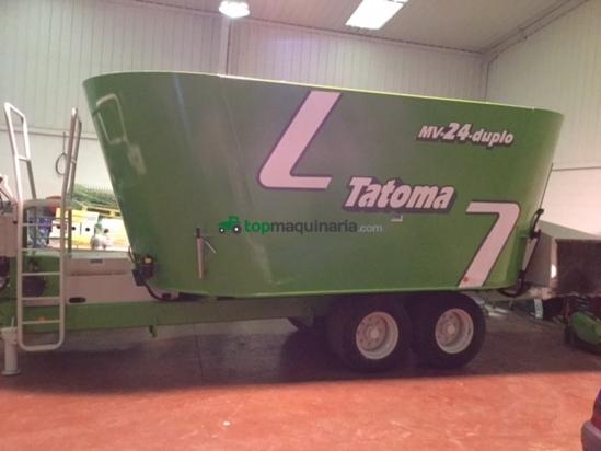 Mezcladora - Tatoma - MV 24 DUPLO