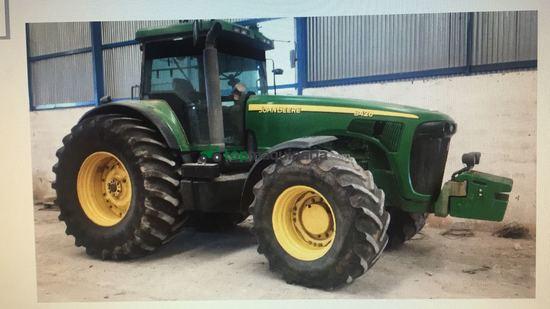 Tractor agrícola - John Deere - 8420