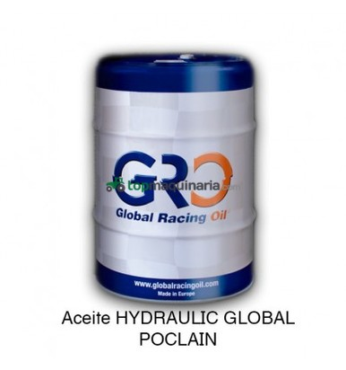ACEITE HYDRAULIC GLOBAL POCLAIN 208 LITROS