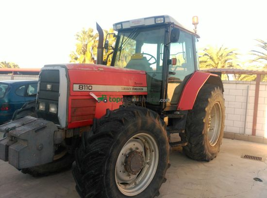 Tractor agrícola - Massey Ferguson - 8110