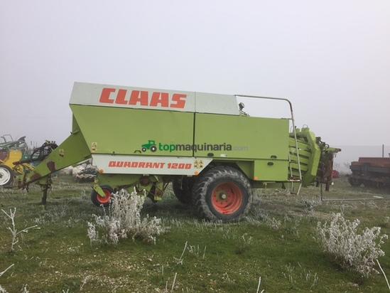 Empacadora gigant - Claas - QUADRANT 1200