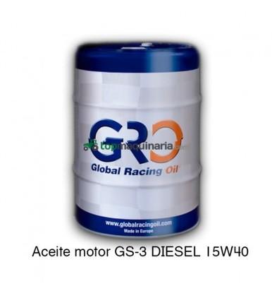 ACEITE MOTOR GS-3 DIESEL 15W40 208 LITROS
