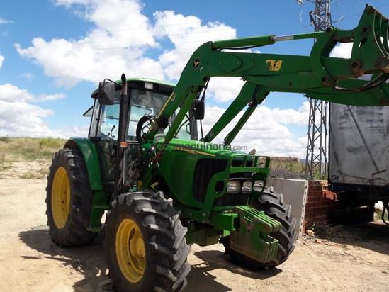 Tractor agrícola - John Deere - 6420 PALA Y SUPER CORTAS