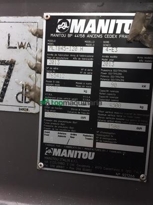 Telescopica - Manitou - MLT845-120H