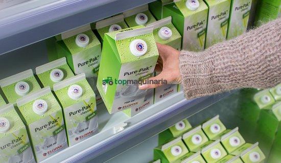 Llenadora de líquidos Elopak en cartón