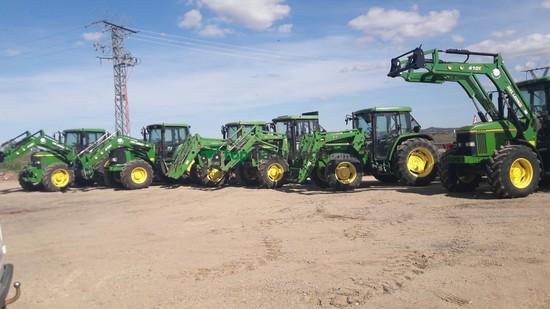 Tractor agrícola - John Deere - TODOS CON PALA
