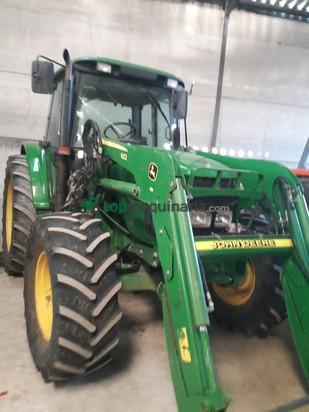 Tractor agrícola - John Deere - 6420 PALA Y CREEPER .SUPER CORTAS