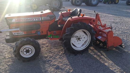 Mini tractor - Hinomoto - E 1804