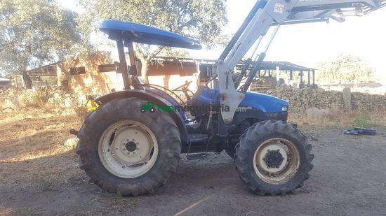 Tractor agrícola - New Holland - TN 75