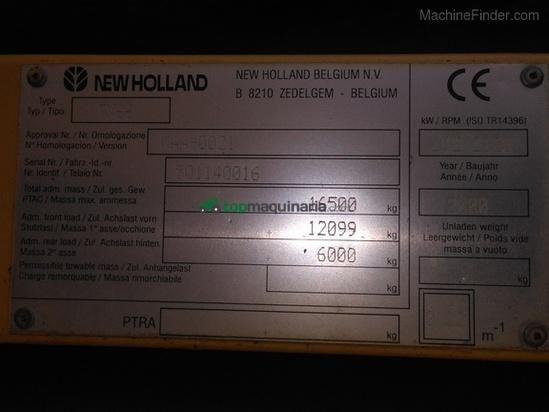 Cosechadora de Cereal - New Holland - TX 66
