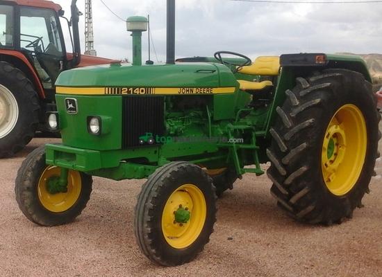 Tractor agrícola - John Deere - 2140