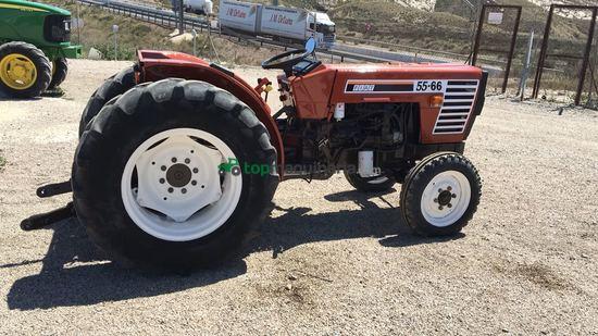 tractor agrícola fiat / fiatagri 55-66 en murcia - topmaquinaria