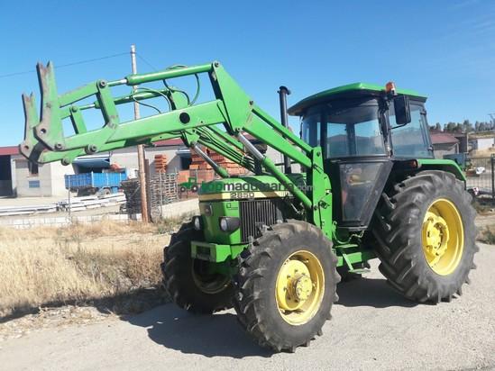 Tractor Agrícola John Deere 2850 Pala En Cáceres Topmaquinaria