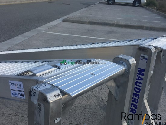 2 Rampas RCL 100.30 SB 14 Para maquinaria de hasta 2700 kilos 803 + IVA