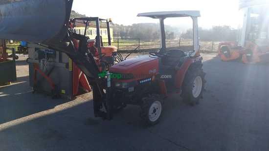 Mini tractor - Yanmar - F5 con pala