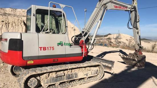 Excavadora Takeuchi tb175
