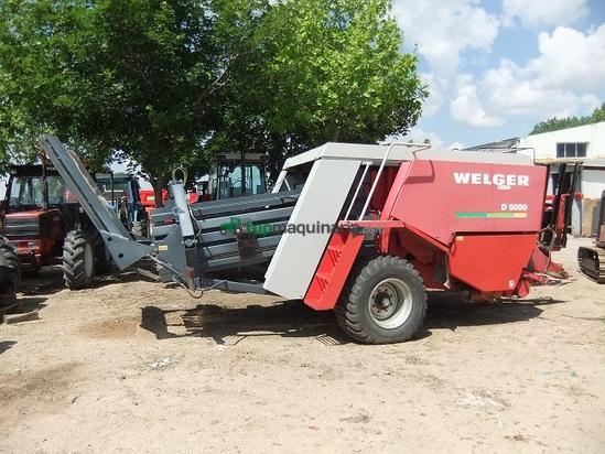 Empacadora gigant - Welger - D 6000