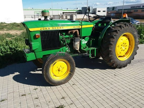 Tractor agrícola John Deere 1630 en Valencia - Topmaquinaria