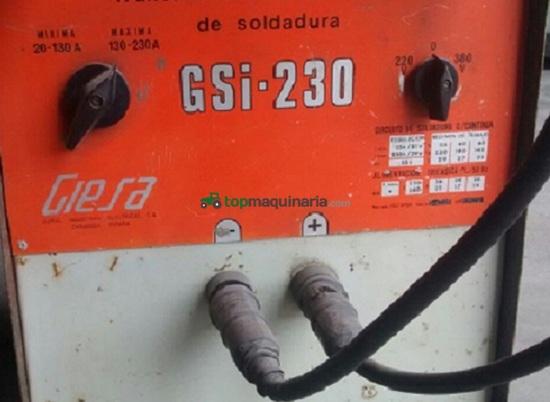 SOLDADOR GIESA GSI 230