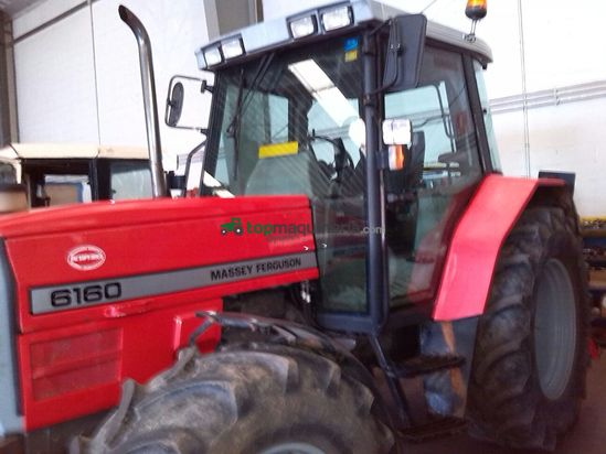 Tractor agrícola Massey Ferguson 6160 en Palencia - Topmaquinaria