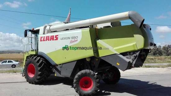 Cosechadora de Cereal - Claas - LEXION 550 MONTANA