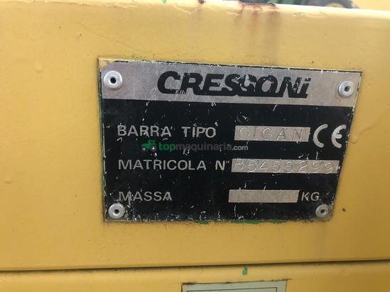 Cabezal Corte de Maiz - Cressoni para repuesto
