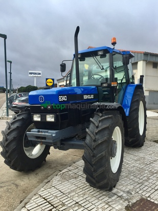 Tractor agrícola - Ford - 8340 SLE